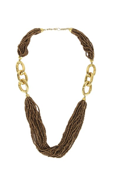 Beautiful Golden Moti Necklace