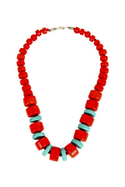 Fashionable Red Stone Necklace