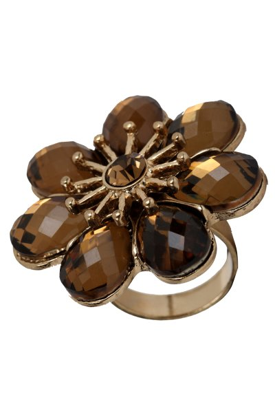 Beautiful Brown Stone Ring