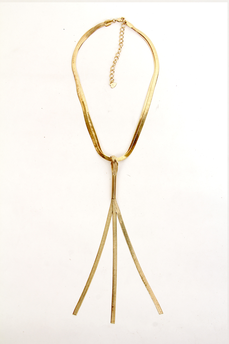 Fashionable Gold Plated Necklace