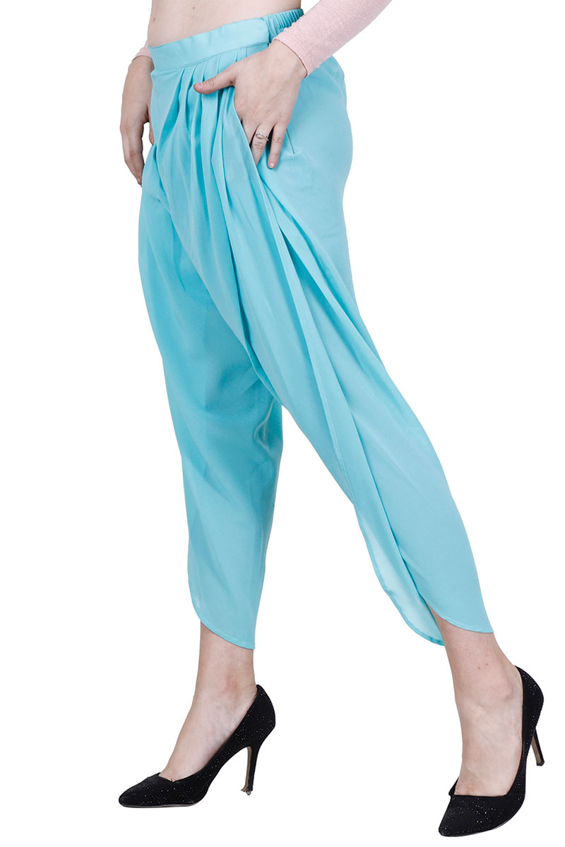 DS Solid Turquoise New Design Stylish Harem