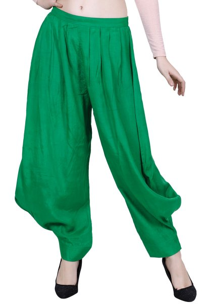 DS Green New Design & Fashionable Harem Pants