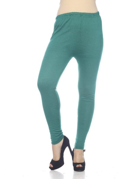 DS Green Premium Soft Stretchable Free Size Woolen Leggings