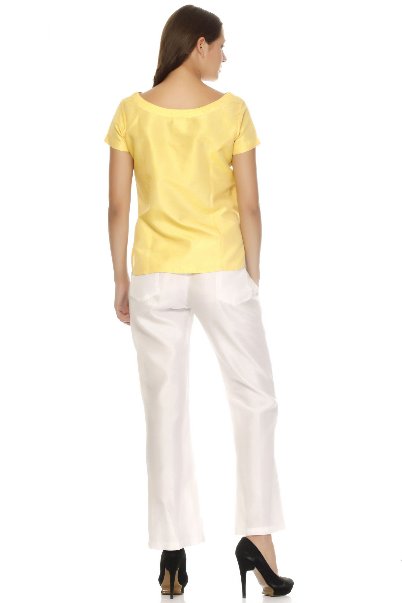 DS Yellow Fashionable Regular top & pant